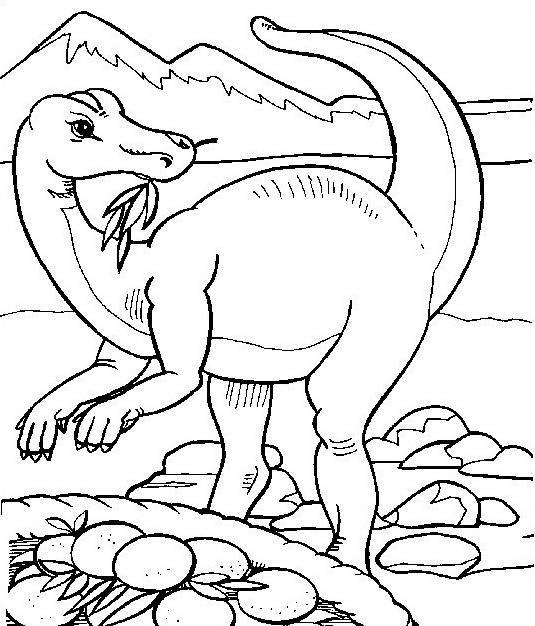 Dinosauro da colorare 175