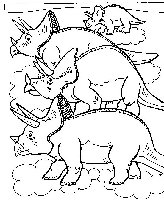 Dinosauro da colorare 176