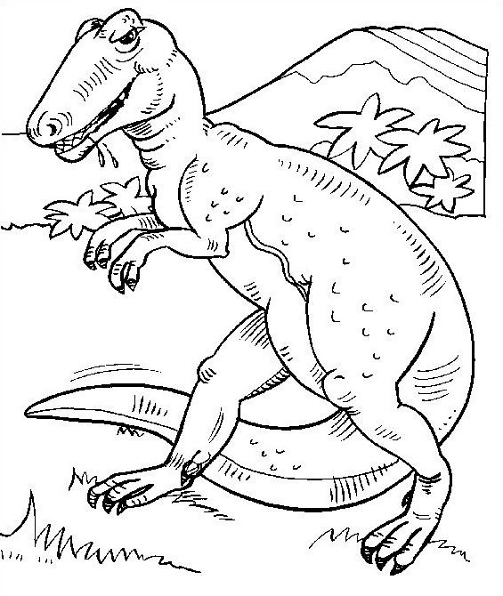 Dinosauro da colorare 177