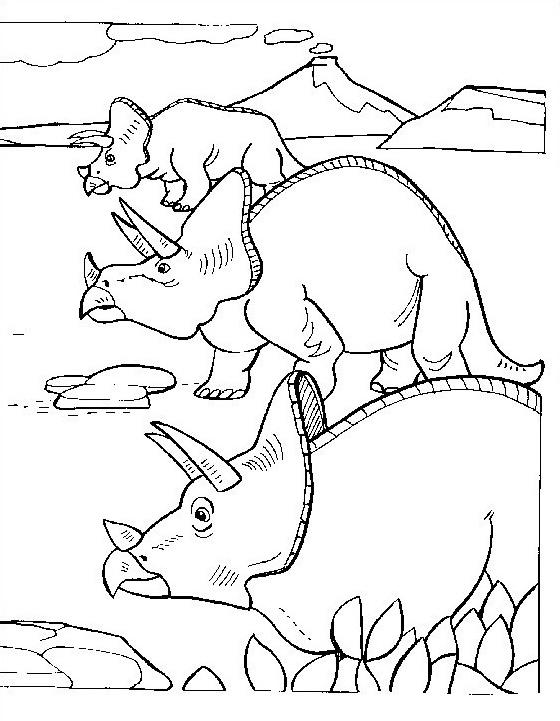 Dinosauro da colorare 179