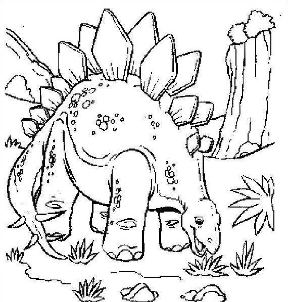 Dinosauro da colorare 185