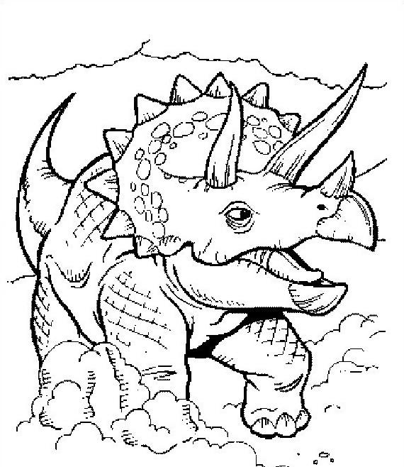 Dinosauro da colorare 194
