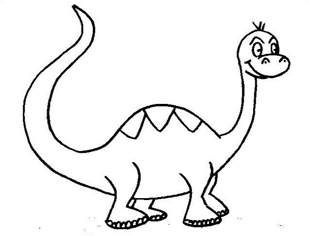 Dinosauro da colorare 199