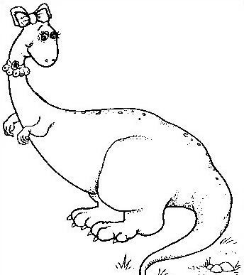 Dinosauro da colorare 201