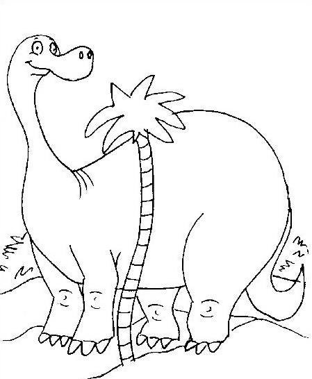 Dinosauro da colorare 205