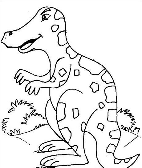Dinosauro da colorare 206