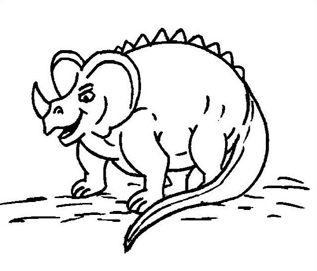Dinosauro da colorare 209
