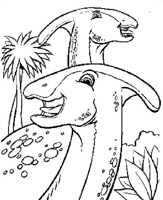 Dinosauro da colorare 214