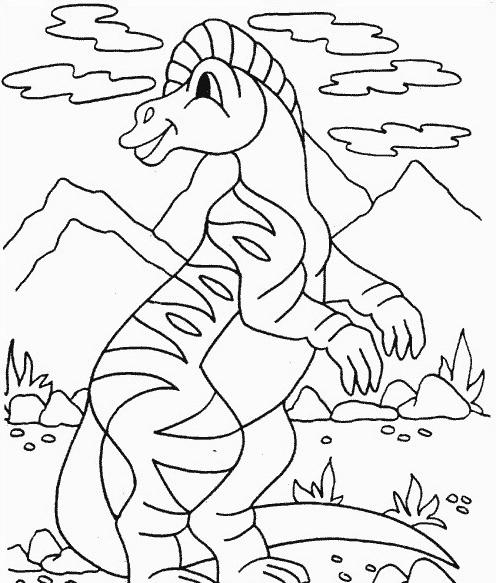 Dinosauro da colorare 215