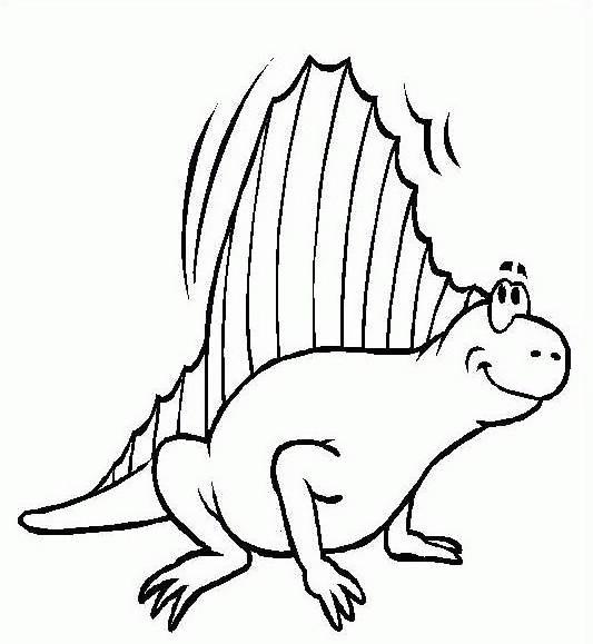 Dinosauro da colorare 219