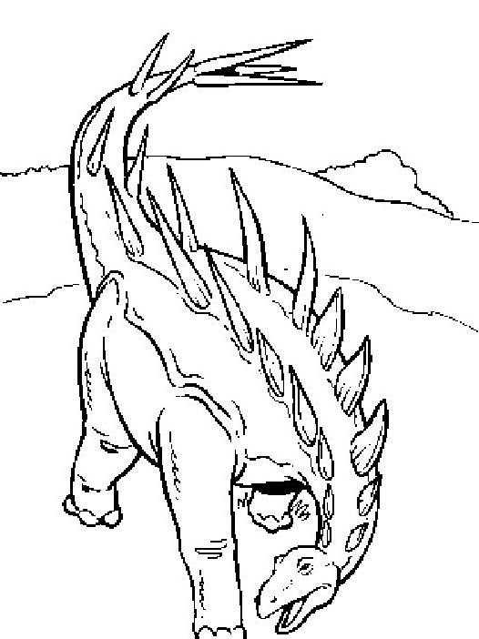 Dinosauro da colorare 225