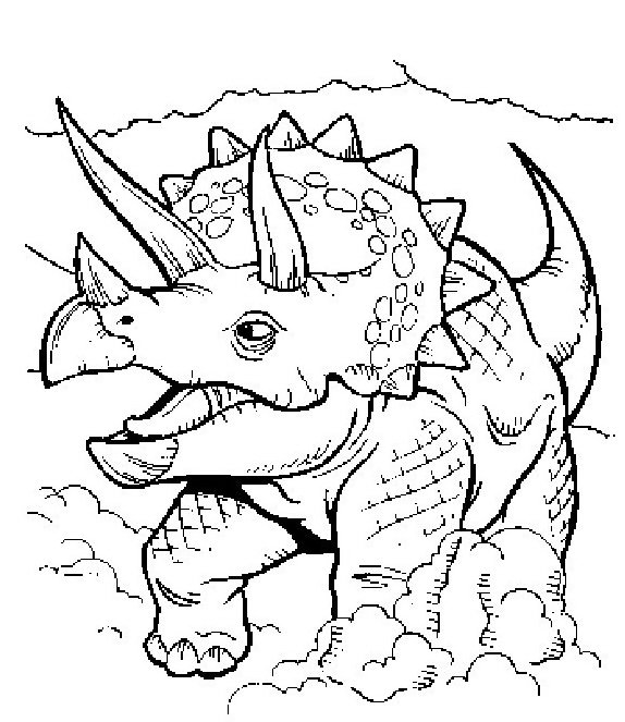 Dinosauro da colorare 228