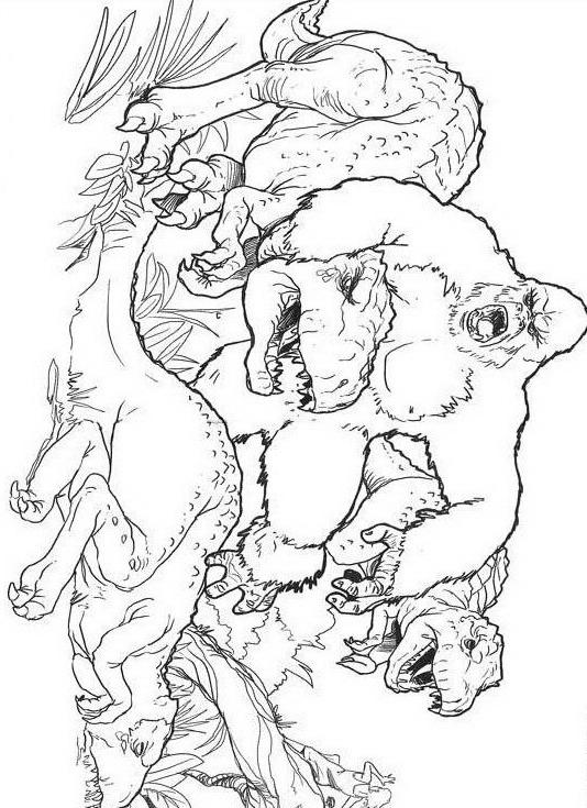 Dinosauro da colorare 241