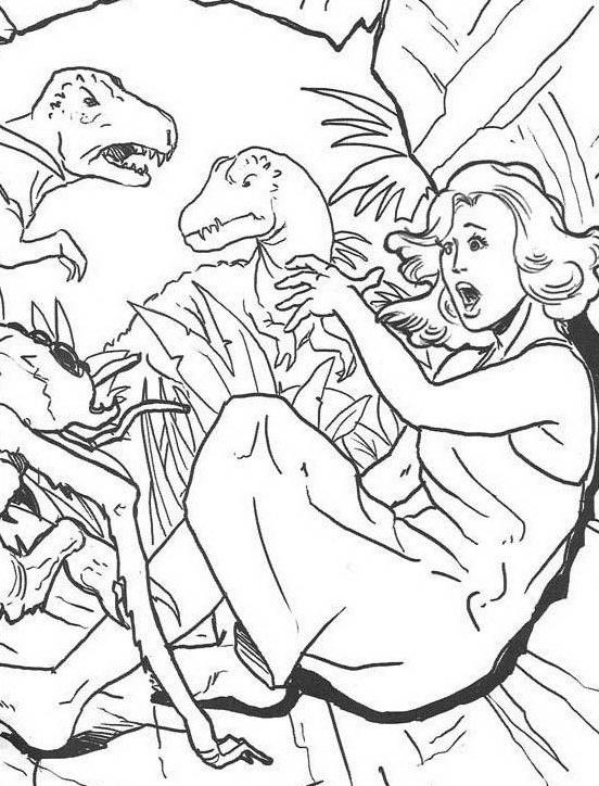 Dinosauro da colorare 242