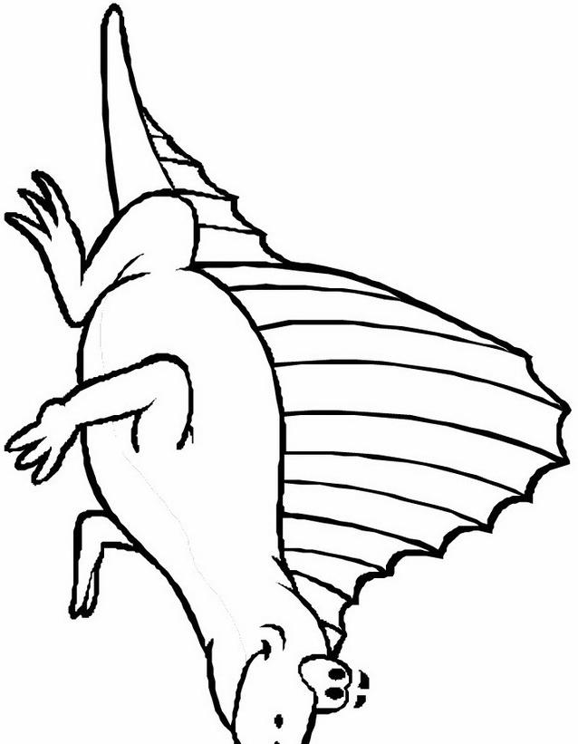 Dinosauro da colorare 248