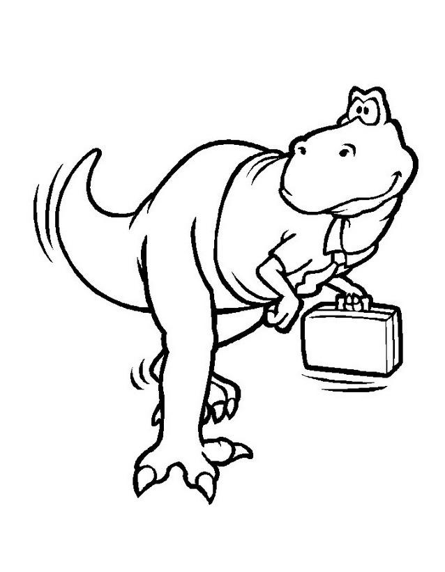Dinosauro da colorare 250