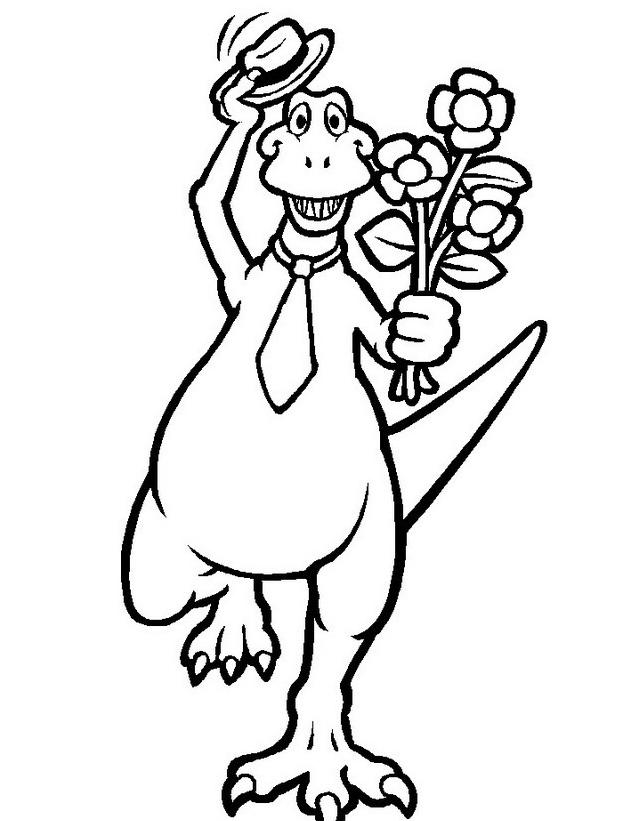 Dinosauro da colorare 251