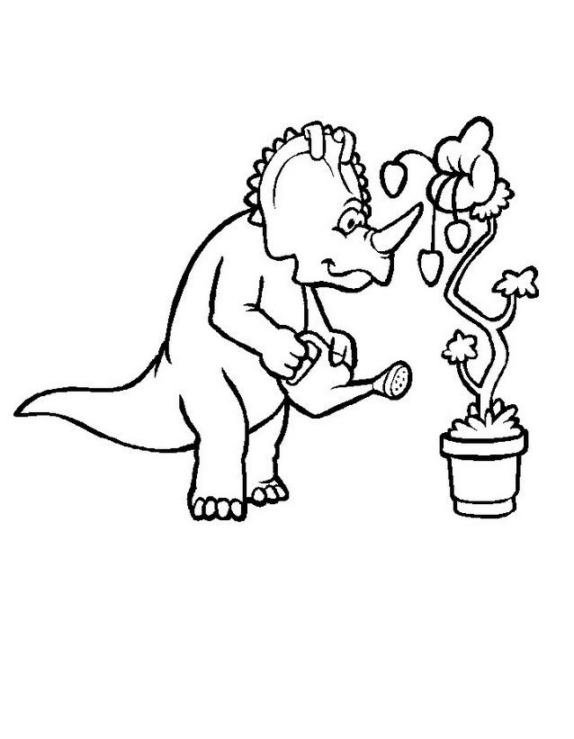 Dinosauro da colorare 255