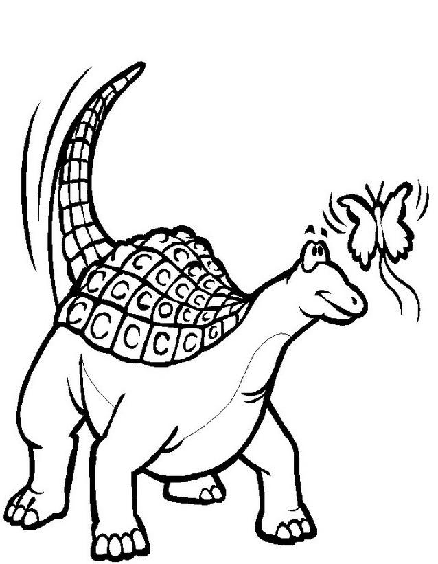 Dinosauro da colorare 259