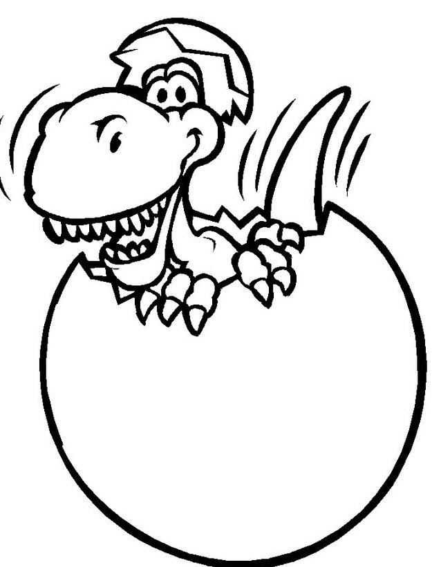 Dinosauro da colorare 269