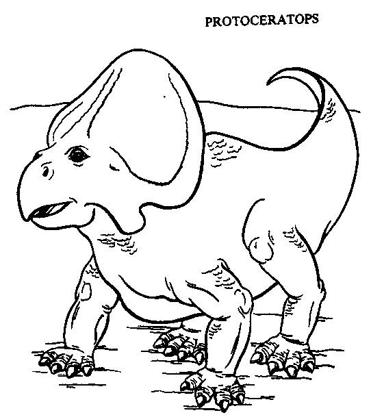 Dinosauro da colorare 288