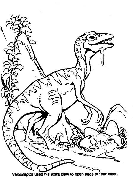 Dinosauro da colorare 301