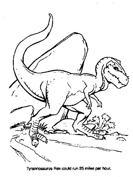 Dinosauro da colorare 302