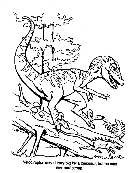 Dinosauro da colorare 303