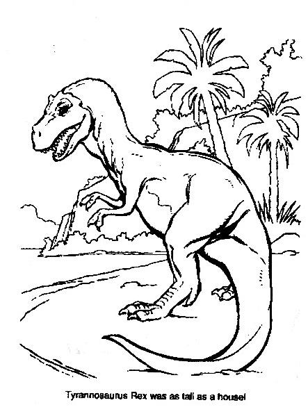 Dinosauro da colorare 306