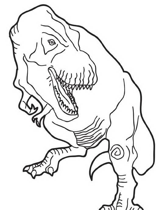 Dinosauro da colorare 315