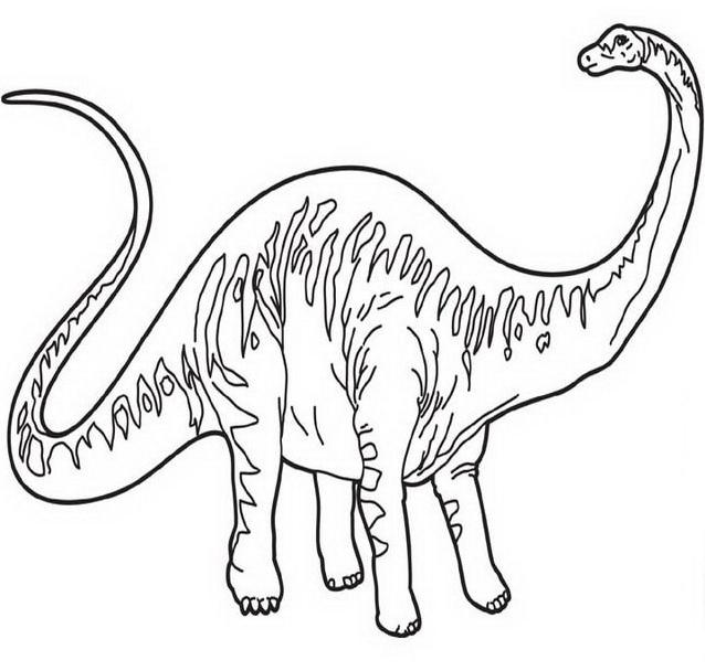 Dinosauro da colorare 318