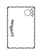 Diploma da colorare 5