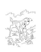 Bambi da colorare 158