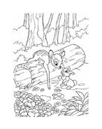 Bambi da colorare 159
