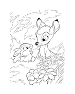 Bambi da colorare 167