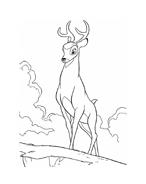 Bambi da colorare 168