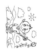 Bambino da colorare 227