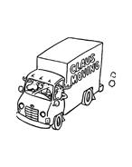 Camion da colorare 89