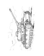 Carro armato da colorare 40