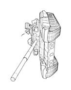 Carro armato da colorare 57