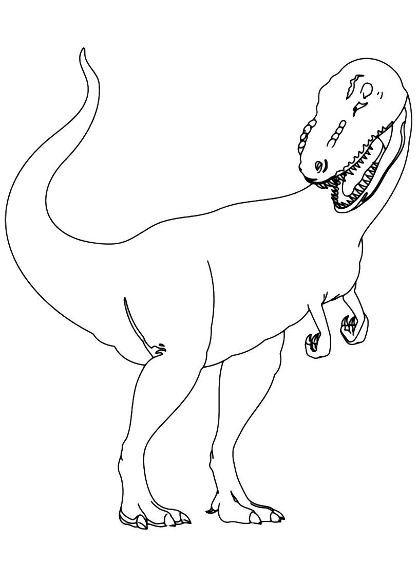 Dinosauro da colorare 325
