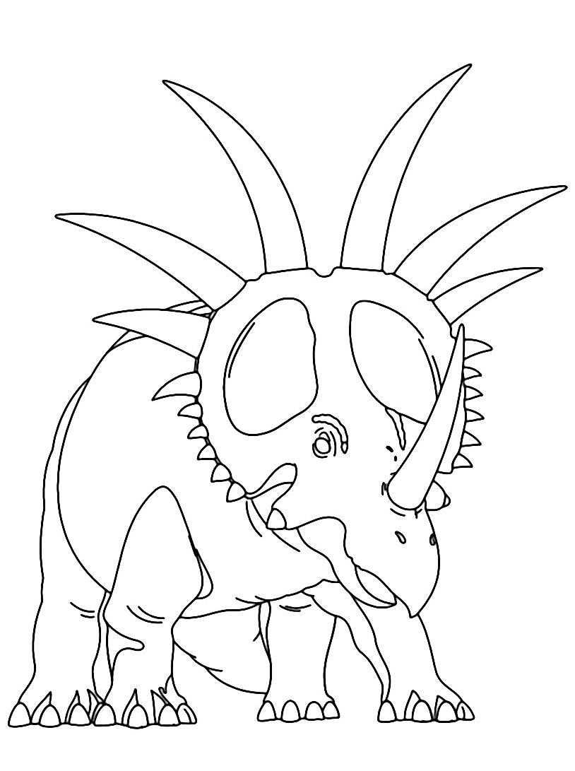 Dinosauro da colorare 326