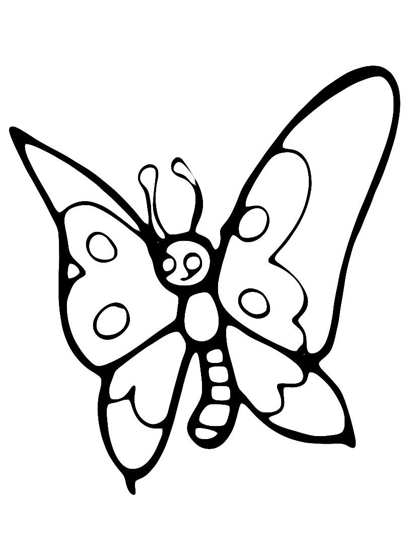 Farfalla da colorare 3
