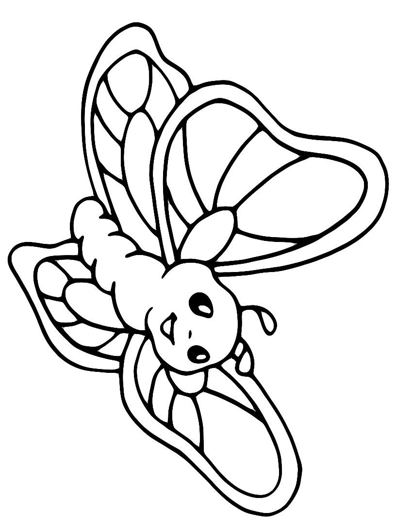 Farfalla da colorare 5
