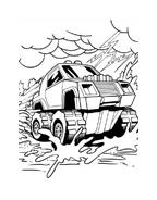 Hot wheels da colorare 5