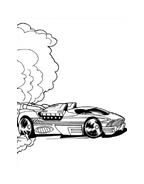 Hot wheels da colorare 22