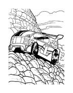 Hot wheels da colorare 29