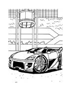 Hot wheels da colorare 37