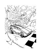 Hot wheels da colorare 41