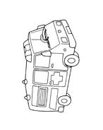 Automobile da colorare 115